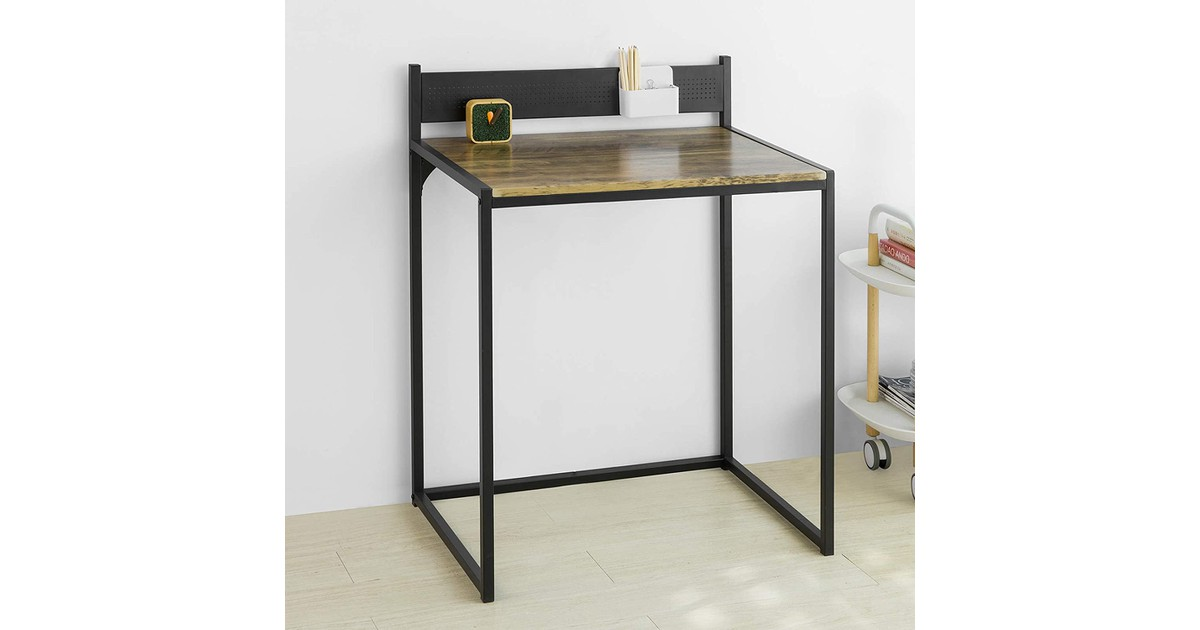 Simpletrade Bureau - Metalenplaat - Werkblad - Zwart