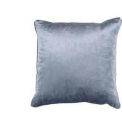 Sierkussen Saar 45x45 cm blauw