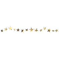 Delight Department Slinger Star Shaped Garland - Goud