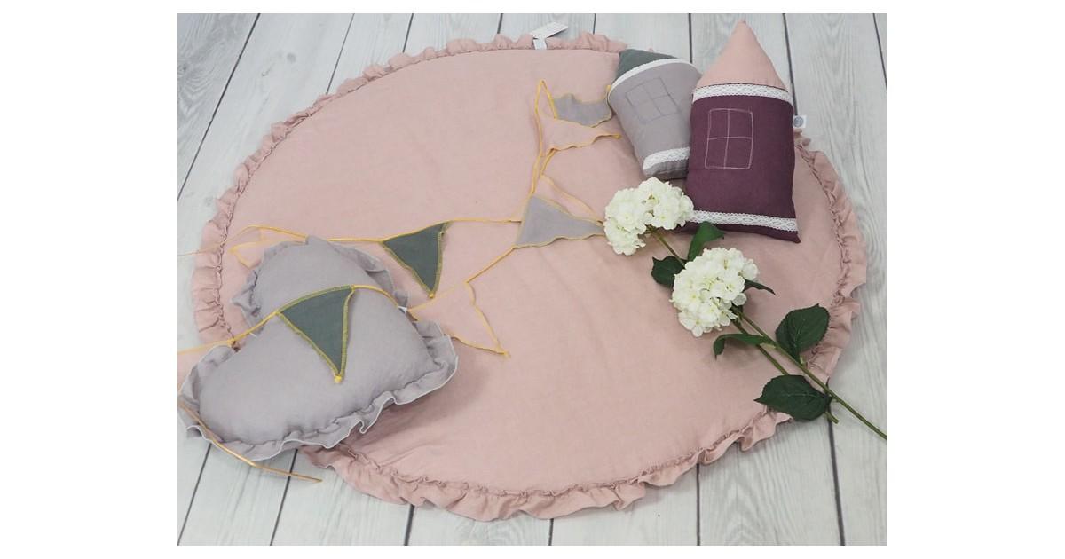 Betulli Speelkleed Linnen Dusty Pink