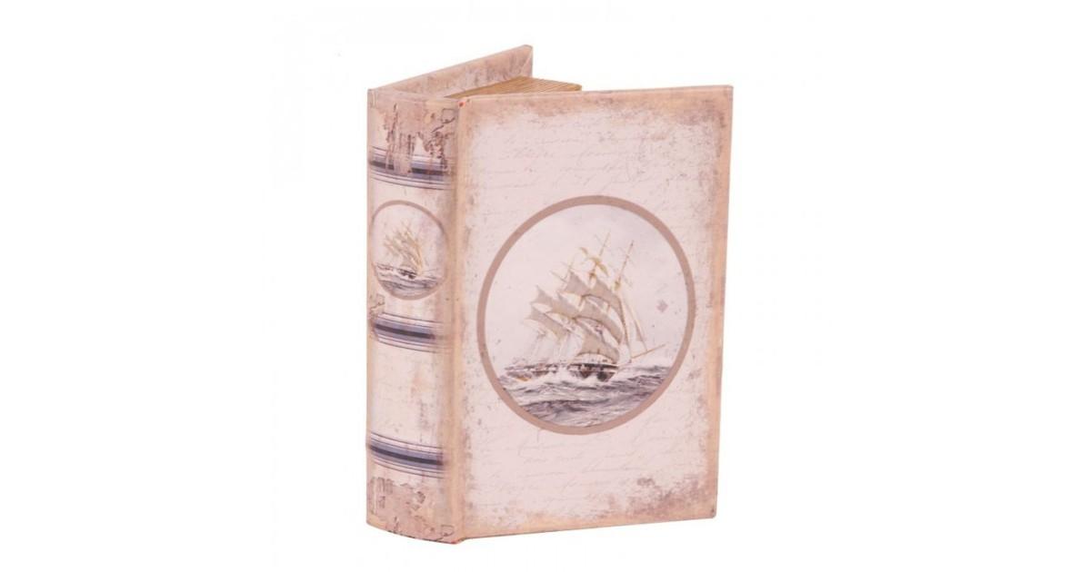 Baroque Collectie Boek box 15 cm Zeilboot