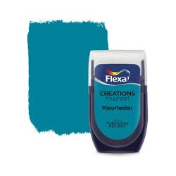 Muurverf Tester Turquoise Holiday 30 ml
