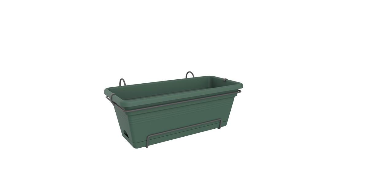 Bloempot Green basics balk xl allin1 55cm bldgrn elho