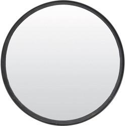 Spiegel Bita - Zwart - Ø40 cm