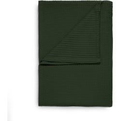 Wafel Bedsprei Deken Plaid Hecket & Lane - bistro green (Groen, 180x260)