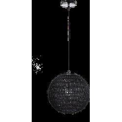 Hanglamp Luca Diameter30 cm zwart
