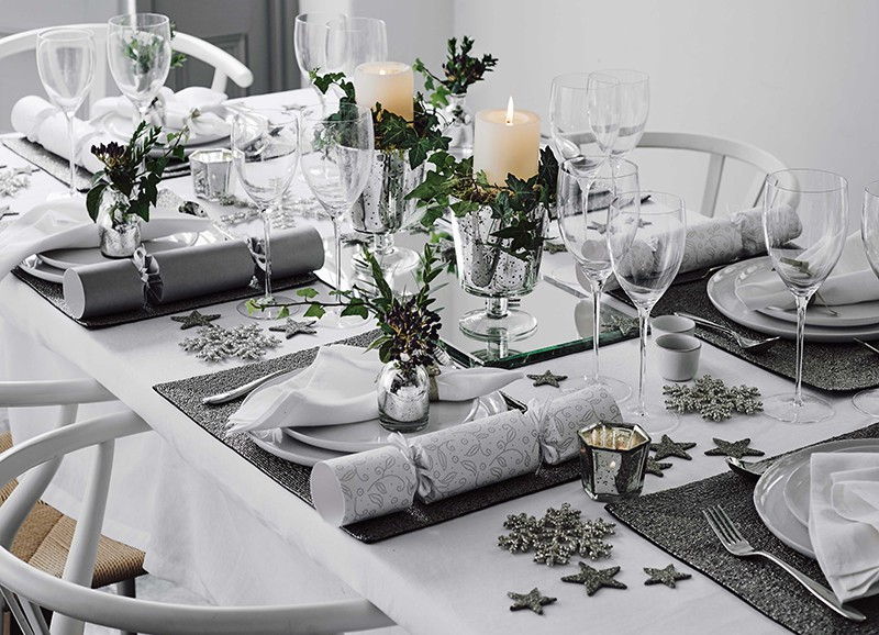 8 tips voor de mooiste gedekte kersttafels
