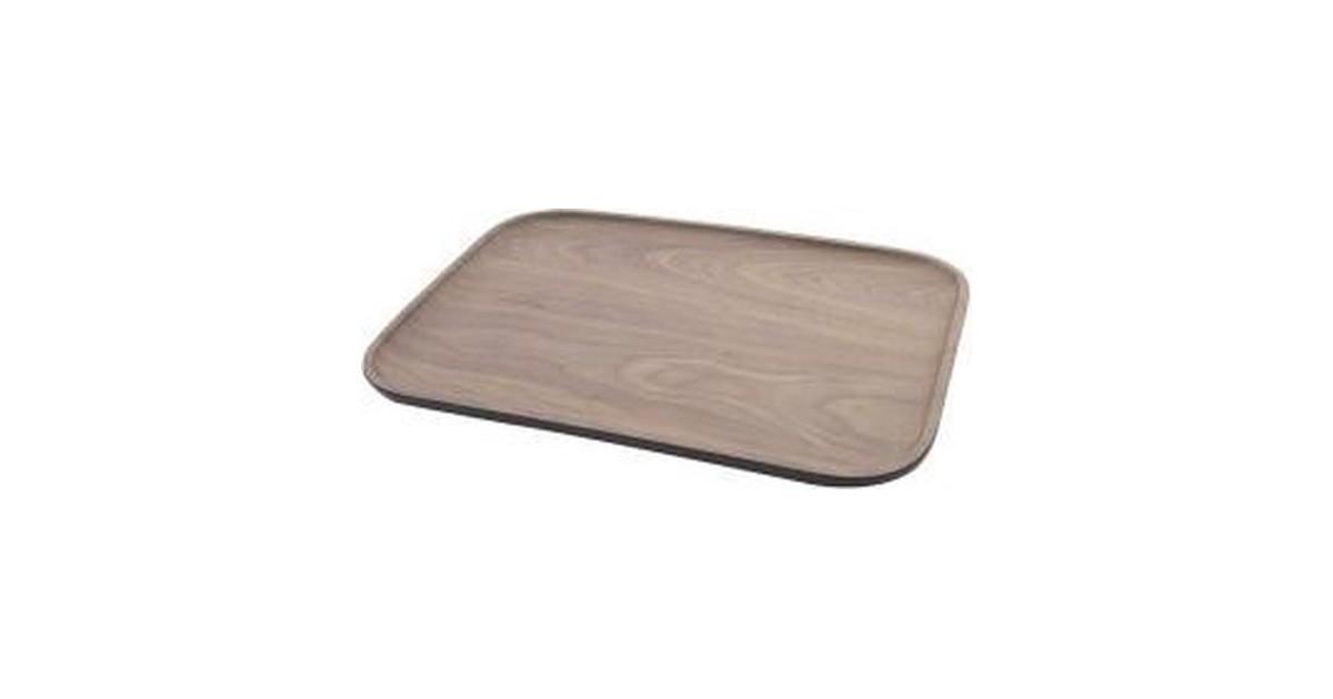 Point-Virgule Dienblad houtlook - Bamboe - 36 x 25 cm