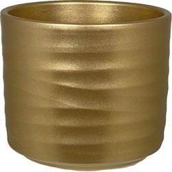 HS Potterie Goud kleurige Pot Berlin - Pot Berlin D29xH24