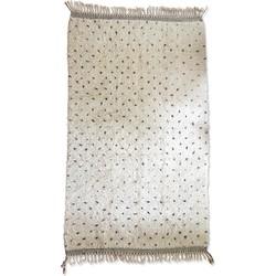 Poufs&Pillows Traditioneel Berber vloerkleed Gestippeld - 250x150 cm - handgeknoopt