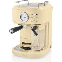Swan One-Touch Retro Espressomachine Creme