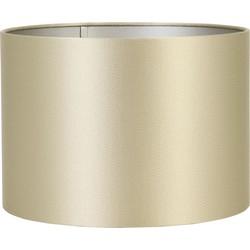 Lampenkap cilinder KALIAN - 35-35-30cm - goud