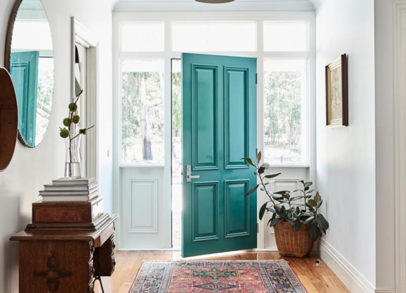 Verschillende kleuren voordeuren