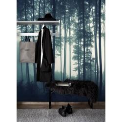 Vliesbehang - 300x250cm - XL Bomen groen