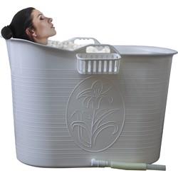 EKEO Zitbad Voor Volwassenen - Bath Bucket - Wit - 200L