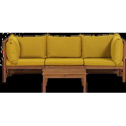 Lanterfant® Suus - Loungeset - Oker - Acacia hardhout