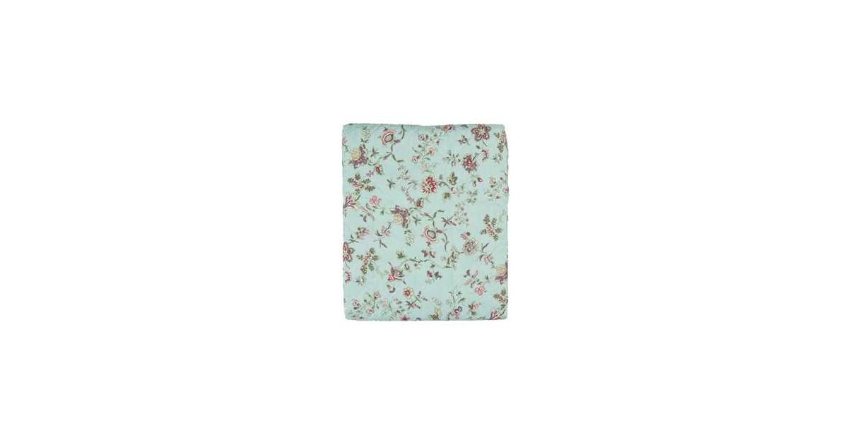 Clayre & Eef Bedsprei | 140*220 cm | Meerkleurig | Polyester | Bloemen |  | Q187.059