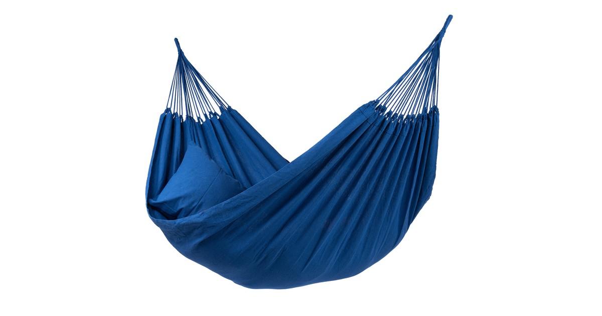 Tropilex Tweepersoons Hangmat Organic blauw