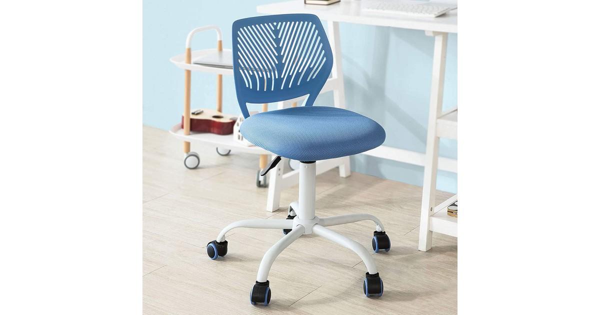 Simpletrade Bureaustoel - Kinderstoel - Ergonomisch - In hoogte verstelbaar - Blauw