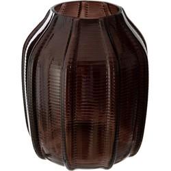 Deco Vaas Tropical Terracotta Zwart