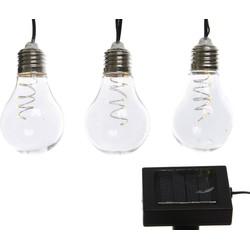 3 stuks Micro LED solar streng 450 cm-40l