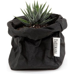 UASHMAMA® Plantenzak Zwart XS