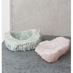 Stone Bowl Quarts - Pink