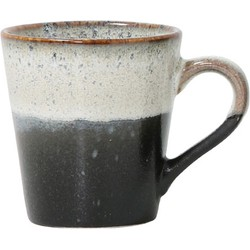 HKliving espresso mok rock seventies 5,8x8x6,2cm
