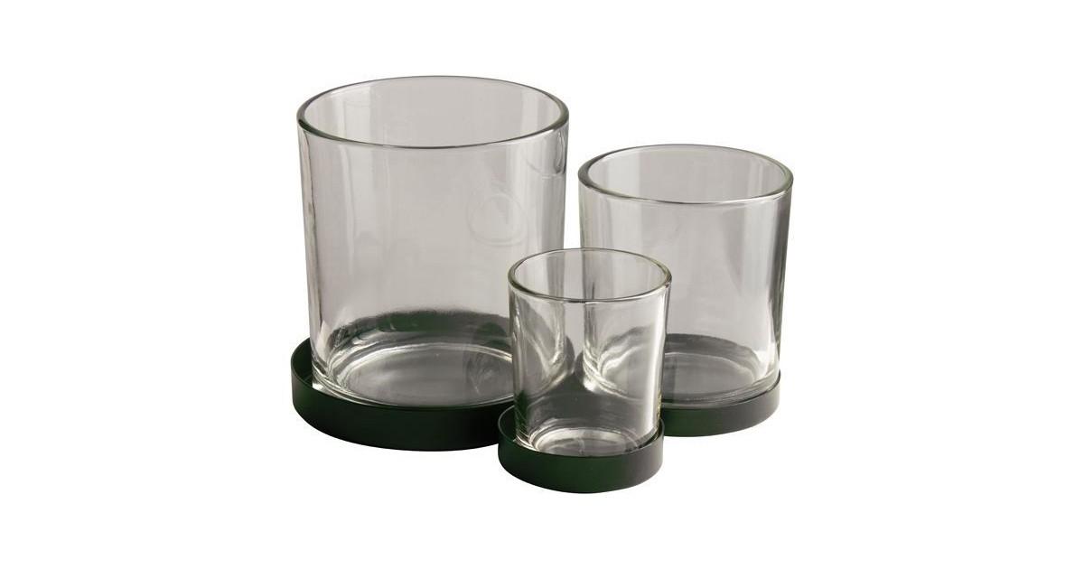 Gusta Metalen houder met glaasjes 3pcs