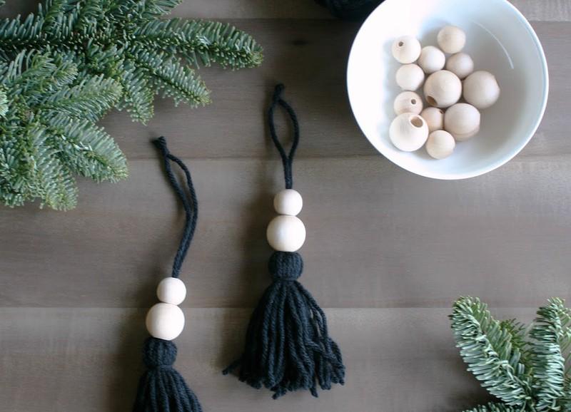 DIY: bohemien Kerst ornament