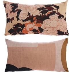 kussen tokyo geprint polyester 35 x 60