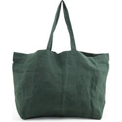 """Monk & Anna """"Shopper Kyodaina"""" Forest green Linnen -"""