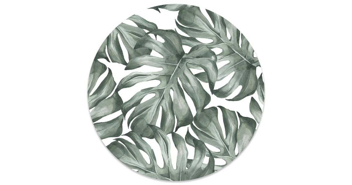 Muurcirkel klein Leaf - Ø 30 cm