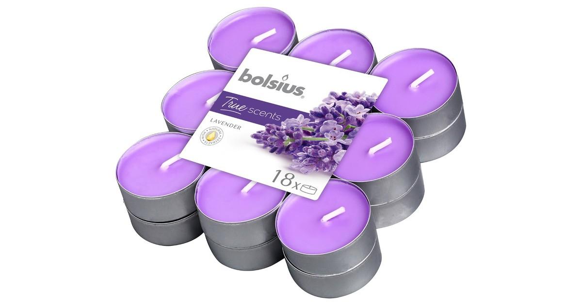 Bolsius Geurtheelicht True Scents Lavender 18 stuks online kopen
