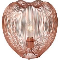 Lucide Tafellamp Wirio 1-Lichts Ø35 X H36 Cm - Metaal Koper