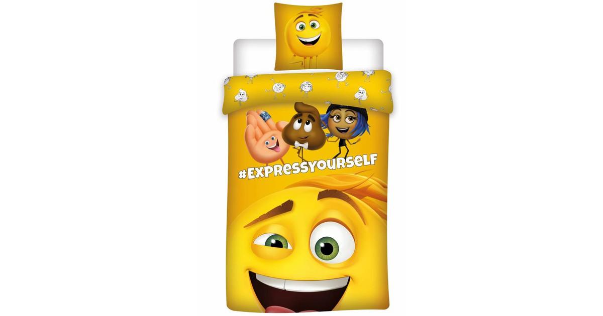 Dekbedovertrek Emoji The Movie New!