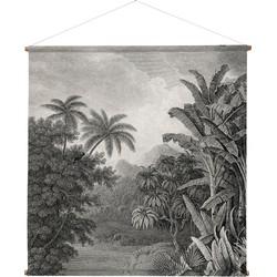 wandkleed xxl jungle 154 x 154 x 2