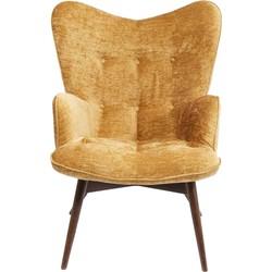 fauteuil vicky wilson geel 92 x 59 x 63