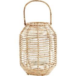 Madam Stoltz lantaarn met handvat naturel 37 x Ø26