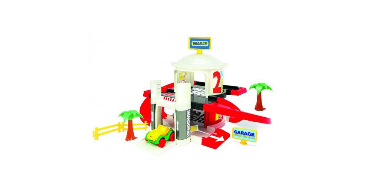Speelgoed Garage Met Lift 2 Verdiepingen, voor kinderen vanaf 1 jaar