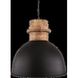Hanglamp Legno Diameter 30 cm Mat Zwart