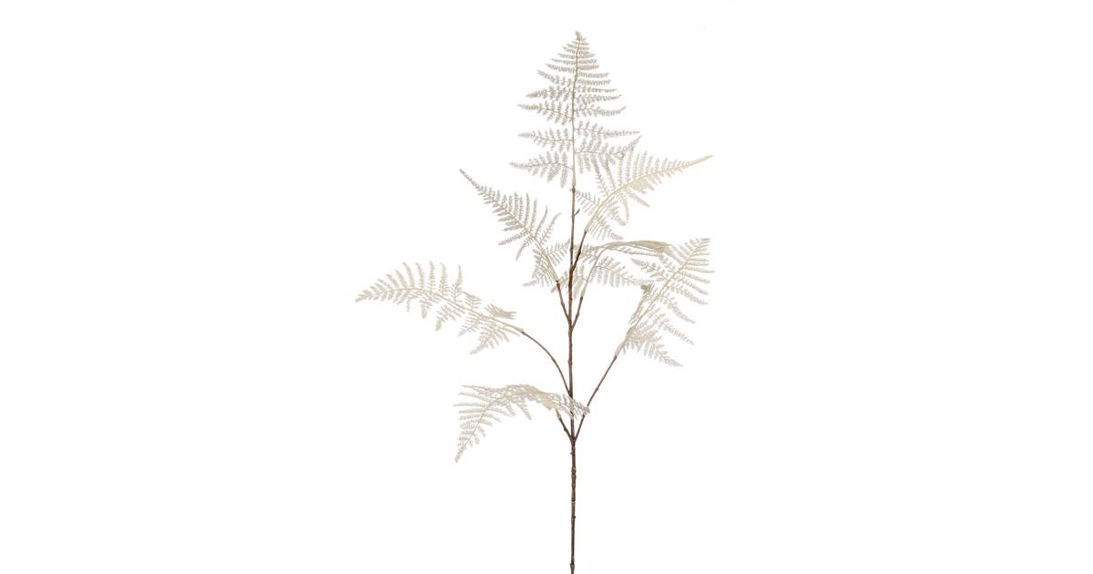 Cozy Ibiza - Kunsttak Asparagus creme 82 cm