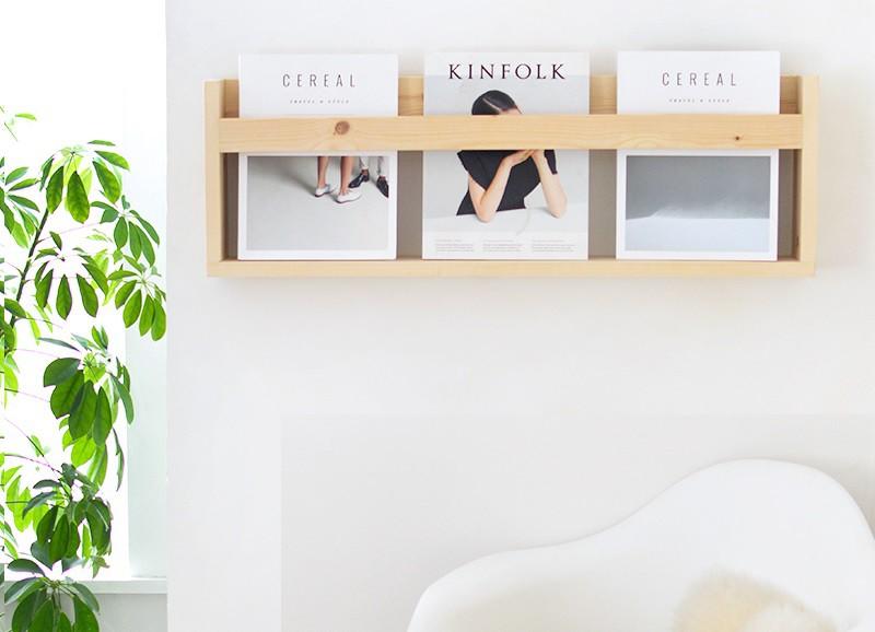 DIY: 5 stylish tijdschriften- en boekenhouders die je zelf kunt maken