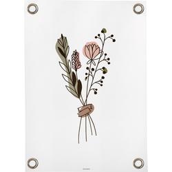 Tuinposter Bunch of flowers (50x70cm)