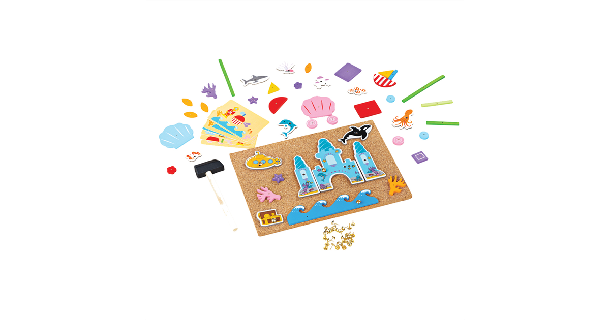 Bigjigs Toys Deluxe Hamertje Tik | Onder de zee