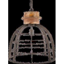 Hanglamp Ingmar 45 cm cement + hout