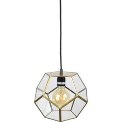 Hanglamp Geo1 Ø20 x 20 brass antique
