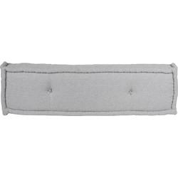 Lounge matrassen donker grijs S-M-L-XL - 120x30x15 cm