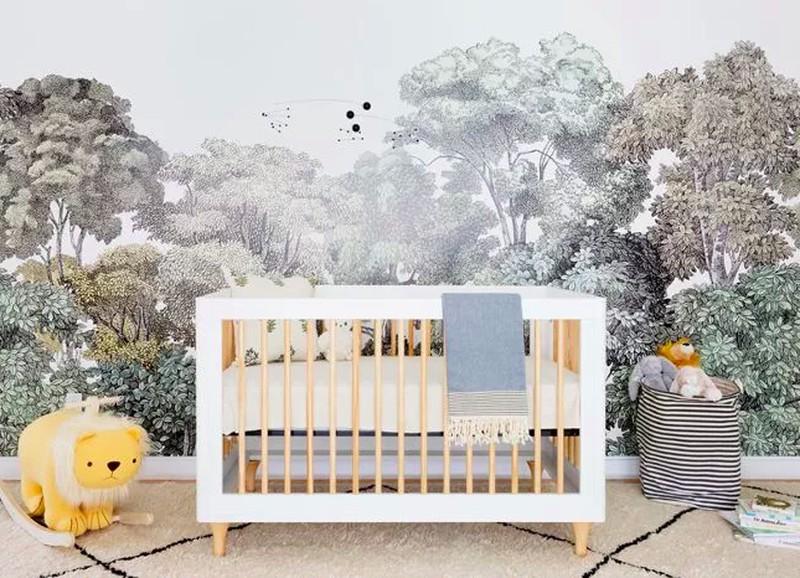 Van deze babykamer wordt elke moeder jaloers!