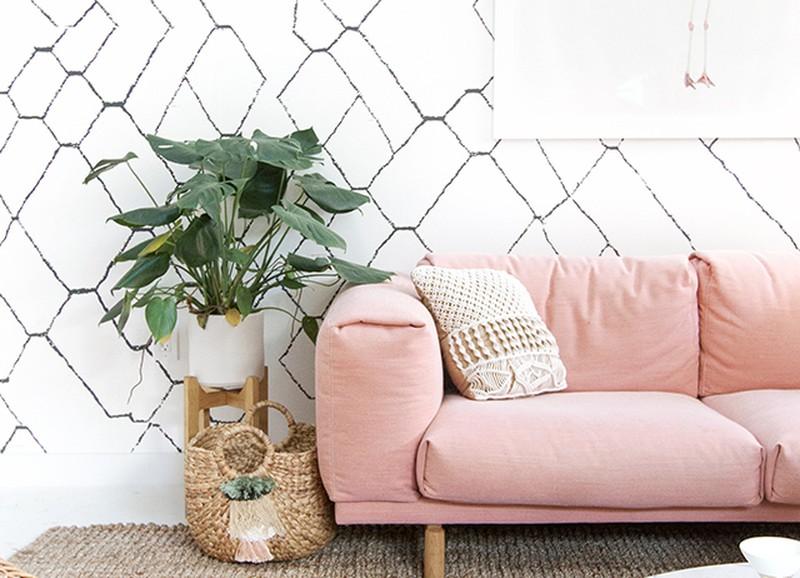 De leukste roze interieurs van Pinterest